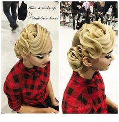 Hair & make up by @dolotova_ermakova  #hairdresser #hairstyle #hair #makeup #best #beauty #ballroom #ballroomdance #ballroomdress #nice #wdsf