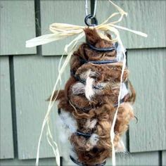 Nest material for the birdies.. You'll be surprised not only how much the birds love this but how easy and fast this will sell on your craft tables... Easy peasy to make and sell ! Hugs as always, Michele~♥~