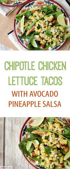 Lime chicken tacos, Pineapple salsa and Lime chicken on Pinterest