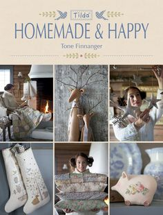 a New Tilda Book is on the way! Can't wait!  Tilda Handmade & Happy ~ Tone Finnanger