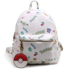 Pokemon Elements White Backpack SP154054