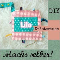 Baby-Gifts *** Knistertuch - tutorial
