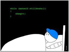 Programador dormindo..