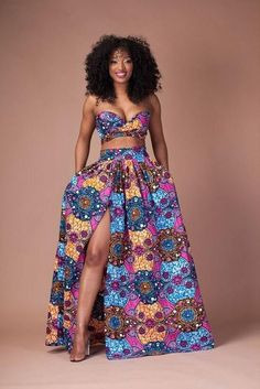 619aa865a140d Floral Print Strapless Crop Top with High-waisted Long Skirt Two Pieces Dress  Set
