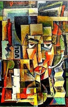 """artist-brauner: """"Portrait of Ilarie Voronca, Victor Brauner Size: cm Medium: oil"""" Victor Brauner, Images D'art, Inspiration Art, Art Database, Art For Art Sake, Art Design, Oeuvre D'art, Art Pictures, Painting & Drawing"""