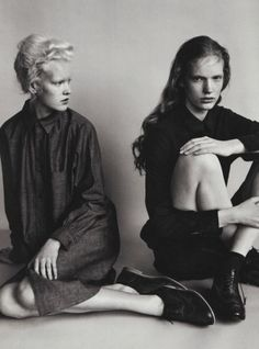 "lesthetiquedelinventaire: "" Linn and Anniek by Josh Olins for i-D Fall 2011 """