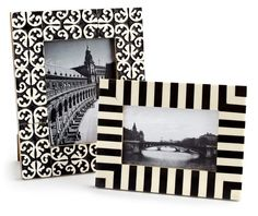 Handcrafted and elegant frames make sophisticated gifts