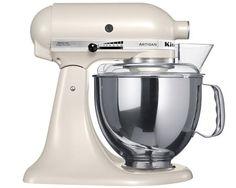 KitchenAid Artisan Mixer - Hvid Satin