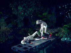 What Lies Beneath -  Magazine: Love Magazine #6 Winter 2011 Ph: Mert Alas & Marcus Piggott