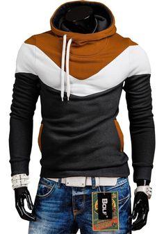 BOLF Herren Sweatjacke Kapuzenpullover Sweatshirt Hoodie Pullover Mix 1A1 Motiv | Kleidung & Accessoires, Herrenmode, Kapuzenpullover & Sweats | eBay! Sport Pullover, Pullover Shirt, Hoodie Jacket, New T Shirt Design, Shirt Print Design, Shirt Designs, Hoodie Sweatshirts, Herren Outfit, Jean Shirts