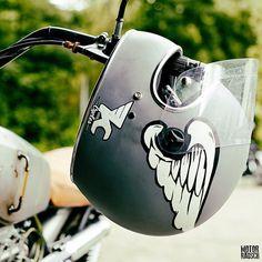 "christopherrausch: "" 📷: from helmet of during party with Custom Motorcycle Paint Jobs, Motorcycle Helmet Design, Motorcycle Gear, Motorcycle Party, Casco Helmet, Bobber Helmets, Arte Sharpie, Blitz Motorcycles, Airbrush"