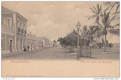 Mossamedes waterfront street, 1904, Angola - Delcampe.net