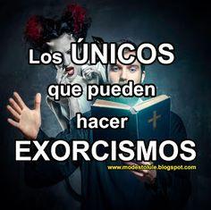 Modesto Lule Zavala : Los únicos que pueden hacer exorcismos