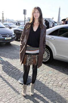 Shopping y looks inspirados en el estilo boho: Charlotte Gainsbourg