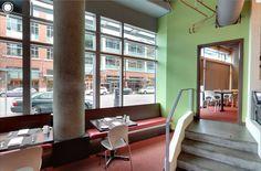 Pikaia chair by Kristalia @ Flying Fish Restaurant, Seattle (US) #interiordesign #chair #design #restaurant