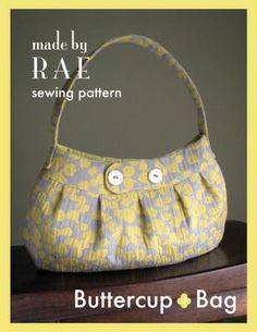 Sew a kicky spring purse with this free pattern