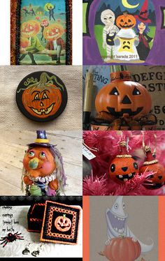 Pumpkins Pumpkins Theres Another One HAB by julia chibatar on Etsy--Pinned with TreasuryPin.com
