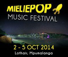 PnP Tickets: Mieliepop 2014 Alternative Music, Words, Horse