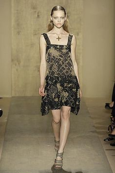 Donna Karan Spring 2007 Ready-to-Wear Fashion Show - Coco Rocha