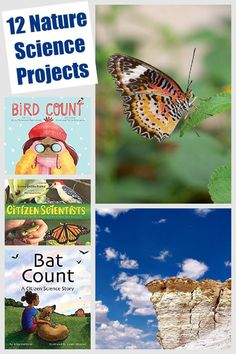 Hands-on real life science projects that kids can do outdoors while learning about ecology, weather, animal behaviors and more! Cool for homeschool, classroom and virtual learning
