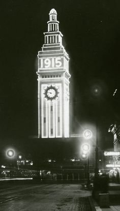 The Ferry Building is about to bring back a classic look. San Francisco Architecture, World's Fair, Back In The Day, Panama, Big Ben, Comebacks, Old Things, Tower, Lights