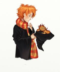 Charlie Weasley by truesimulacrum