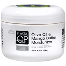 This is an amazing product line for African-American hair.  I've always loved Elasta.  But other hair textures can benefit from some of the products in the line.  This would be a great deep conditioner for thick coarse textures and other very curly hair.  Elasta QP Olive Oil & Mango Butter Hair Moisturizer