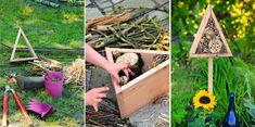 Gartenzauber   Insektenhotel – ein Heim für Vielflieger - Gartenzauber