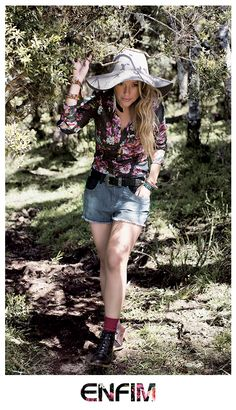 Juliana Didone na Campanha Outono/Inverno 2014 da Enfim ♥ #universoenfim #destinoenfim