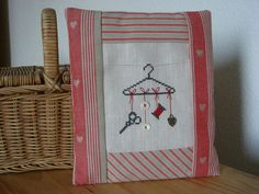 Cute ideas and patterns with crossstitch.
