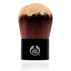 Extra Virgin Minerals™ Foundation Brush   P.S Don't ever put this much foundation on the brush.  But this is the best brush for applying mineral makeup... ever. $35.95