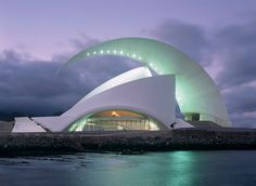 Adan Martin Auditorio de Tenerife / Santa Cruz de Tenerife (Gallery) - Santiago Calatrava – Architects & Engineers