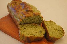 pão de espinafre sem glúten