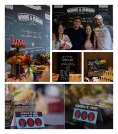 No blog um CHÁ BAR moderninho super lindo! Uma coisa bem legal é que além de saberem exatamente que queriam esse estilinho moderninho tinham 3 coisas que não poderiam abrir mão: sorvete bar para os convidados se servirem à vontade um quadro negro com as informações do casal e um bolo de Donuts. O resultado ficou incrível criativo e lindo! O espaço do Chá também combinou muito com a proposta. Escolheram o @restaurantecanteiro em Santos SP. #amolapisdenoiva #chabar #chadepanela #cha by…