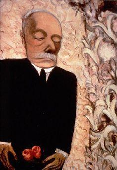"""Alice Neel - American Portrait Artist -   """"Dead Father"""" 1946"""