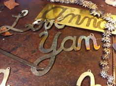 Typographic Glam New Collection Typography, Collection, Home Decor, Calla Lilies, Santas Workshop, Bud Vases, Letterpress, Decoration Home, Letterpress Printing