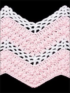 lacy v stitch ripple afghan crochet pattern | The Ripple – Crochet Cabana – learn to crochet, free patt