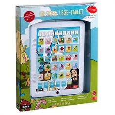 Lege-tablet med HR. Skæg fra DR som lærer dit barn at tælle og stave på en sjov måde.