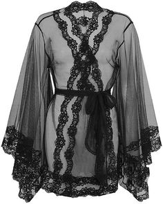 AGENT PROVOCATEUR  Lacy Kimono - Lyst.. I love this... but I don't love it for $600...