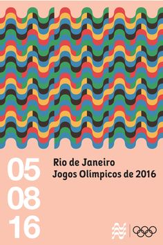 Poster No. 03 for Rio de Janeiro Summer Olympics which will be held on August 05, 2016