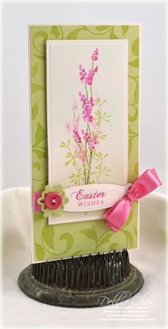 Pretty watercolor card