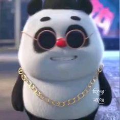 Cute Panda Cartoon, Panda Funny, Cute Cartoon Pictures, Cute Love Pictures, Cute Love Cartoons, Funny Cartoons, Funny Baby Quotes, Cute Funny Baby Videos, Crazy Funny Videos