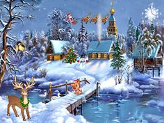 free animated wallpaper windows 8 | Download Free Christmas Symphony Screensaver, Christmas Symphony ...