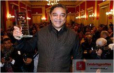 Kamal Hassan honoured with Henri Langlois award in Paris