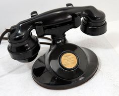 circa 1930 Western Electric Extension Phone Model by 4EyesAndEars