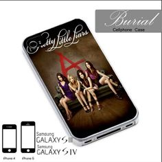 Pretty Little Liars Case For iPhone 4/4S,iPhone 5,iPhone 5S,iPhone 5C,Samsung Galaxy S2/S3/S4,Galaxy S4 Mini