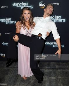Actress/ wildlife conservationist Bindi Irwin (L) and dancer/TV personality Derek Hough attend 'Dancing with the Stars' Season 21 at CBS Televison City on September 22, 2015 in Los Angeles, California.