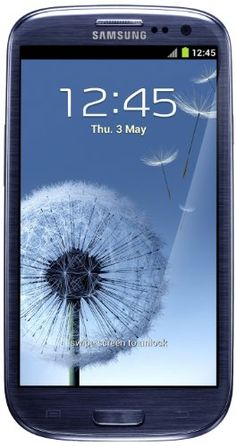 excellent Samsung Galaxy SIII UK SIM-Free Smartphone - Pebble Blue (16GB)
