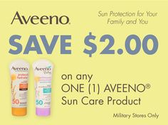 Look for this Aveeno