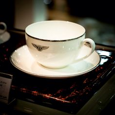 Tea cup by bentley home collection